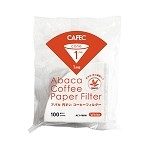 CAFEC Abaca Cone Coffee Filters- 100 pk 1-2 Cup Small Size
